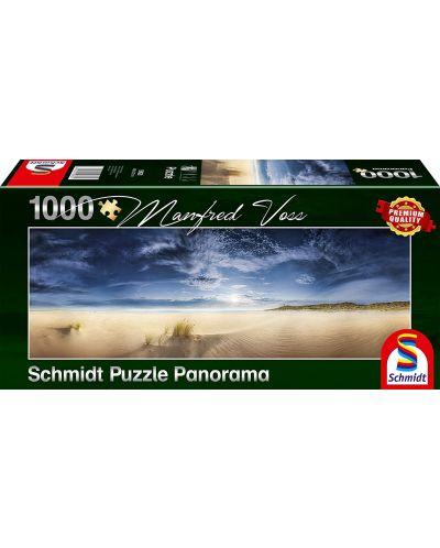 Панорамен пъзел Schmidt от 1000 части - Необятна шир, Манфред Вос - 1