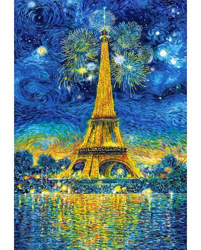 Пъзел Castorland от 1500 части - Празник в Париж - 2