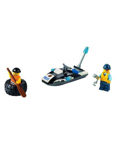 Конструктор Lego City - Бягство на автомобилна гума (60126) - 4