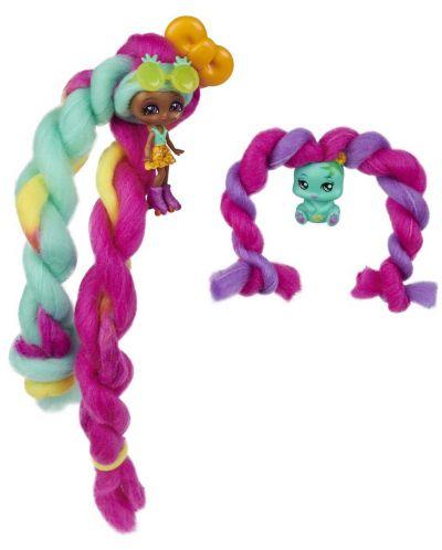 Мини кукла с ароматна коса Candylocks - С домашен любимец, асортимент - 9