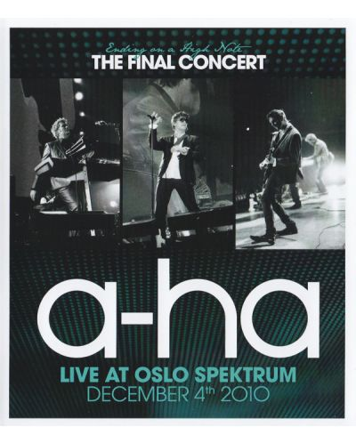 A-ha - Ending On A High Note - The Final Concert (Blu-Ray) - 1