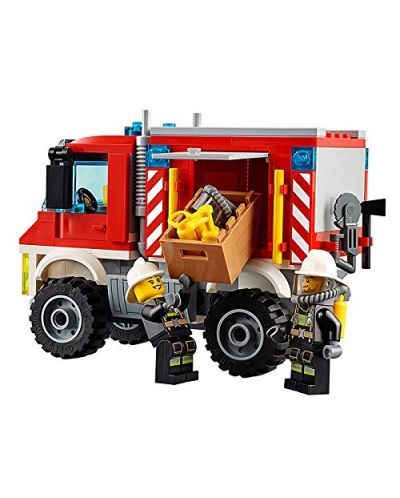Конструктор Lego City - Пожарникарски камион (60111) - 5