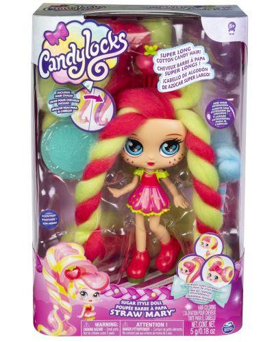 Мини кукла с ароматна коса Candylocks - Straw Mary - 6