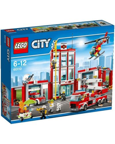 Конструктор Lego City - Пожарна команда (60110) - 1