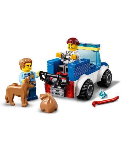 Конструктор Lego City Police - Полицейски отряд с кучета (60241) - 6