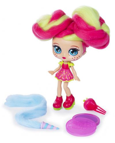 Мини кукла с ароматна коса Candylocks - Straw Mary - 3