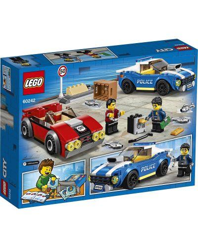 Конструктор Lego City Police - Полицейски арест на магистралата (60242) - 2