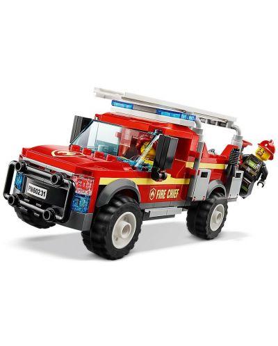 Конструктор Lego City - Fire Chief Response Truck (60231) - 3
