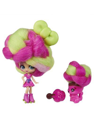Мини кукла с ароматна коса Candylocks - С домашен любимец, асортимент - 5