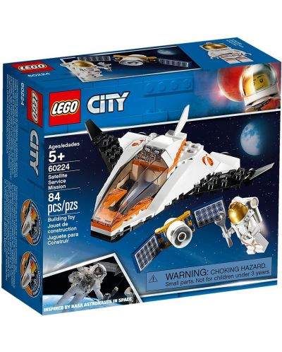Конструктор Lego City - Satellite Service Mission (60224) - 1