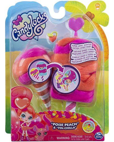 Мини кукла с ароматна коса Candylocks - С домашен любимец, асортимент - 4