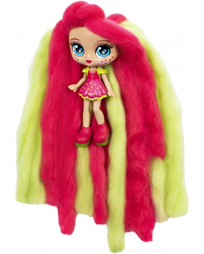 Мини кукла с ароматна коса Candylocks - Straw Mary - 4
