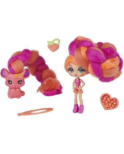 Мини кукла с ароматна коса Candylocks - С домашен любимец, асортимент - 1