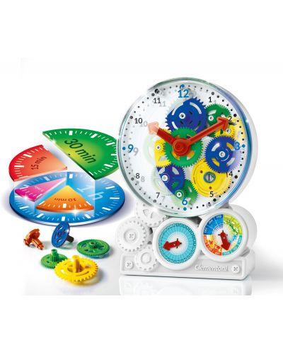 Научен комплект Clementoni Science Museum - Как работи часовника - 2