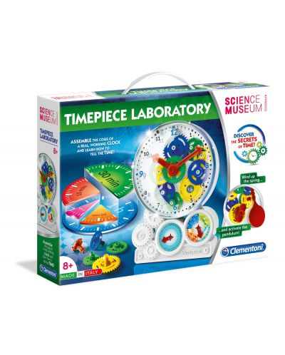Научен комплект Clementoni Science Museum - Как работи часовника - 1