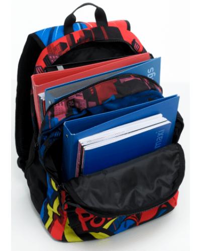 Ученическа раница Mitama Plus - SuperHero + подарък - 6