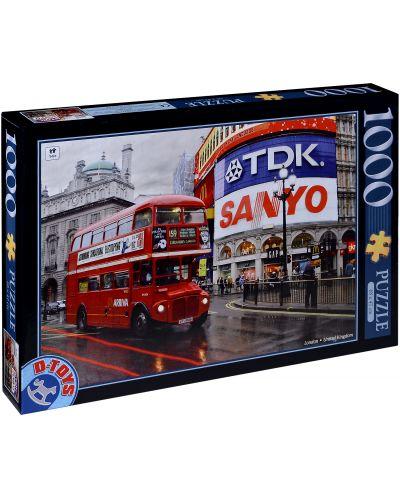 Пъзел D-Toys от 1000 части - Лондон, Обединеното кралство - 1