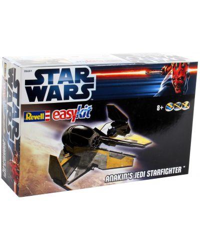 Сглобяем модел на космически кораб Revell Easykit STAR WARS - Anakin's Jedi Starfigter (06681) - 2