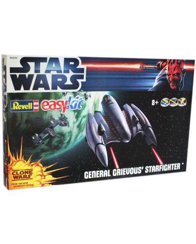 Сглобяем модел на космически кораб Revell Easykit STAR WARS - Grievous Starfighter (06682) - 2