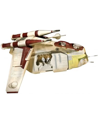 Сглобяем модел на космически кораб Revell Easykit STAR WARS - Republic Gunship (06687) - 1
