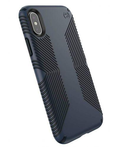 Калъф Speck - Presidio Grip, за iPhone XS, eclipse blue/carbon black - 2