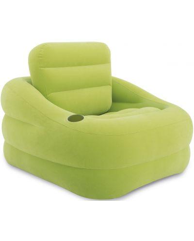 Надуваем фотьойл Intex - Accent, зелен - 1