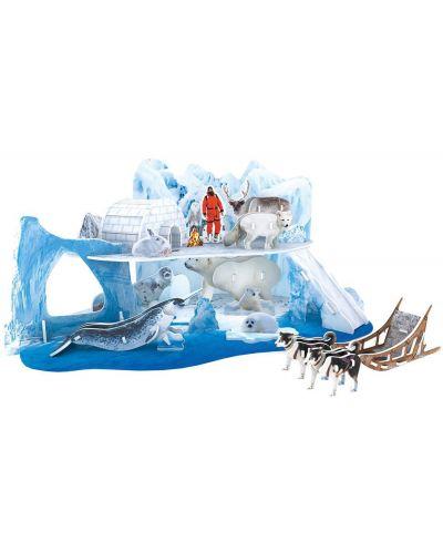 3D Пъзел Cubic Fun от 73 части - Леденият и снежен свят на Арктика - 1