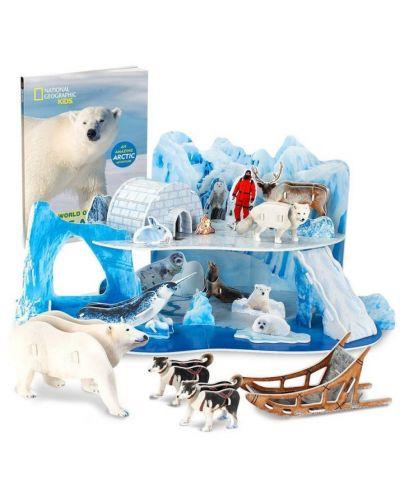 3D Пъзел Cubic Fun от 73 части - Леденият и снежен свят на Арктика - 2
