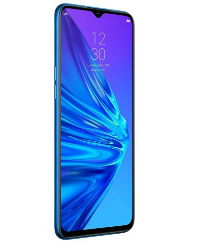 "Смартфон Realme 5  - 6.5"", 128GB, crystal blue - 3"