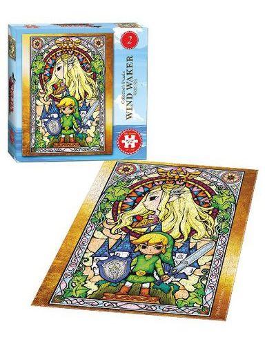 Колекционерски пъзел USAopoly, The Legend of Zelda: The Wind Waker #2 – 550 части - 2