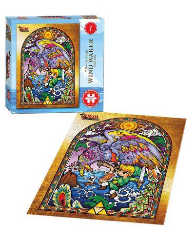 Колекционерски пъзел USAopoly, The Legend of Zelda - The Wind Waker, 550 части - 2