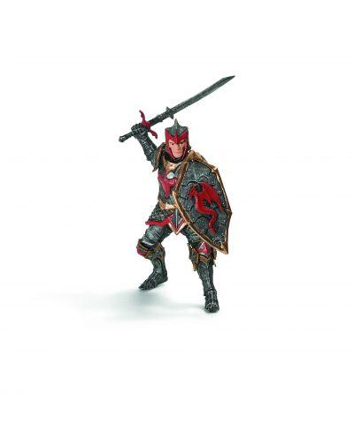 Фигурка Schleich от серията Рицари на Дракона: Рицар на Дракона с меч - 1