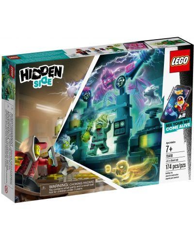 Конструктор Lego Hidden Side - Лабораторията за духове на J.B. (70418) - 1