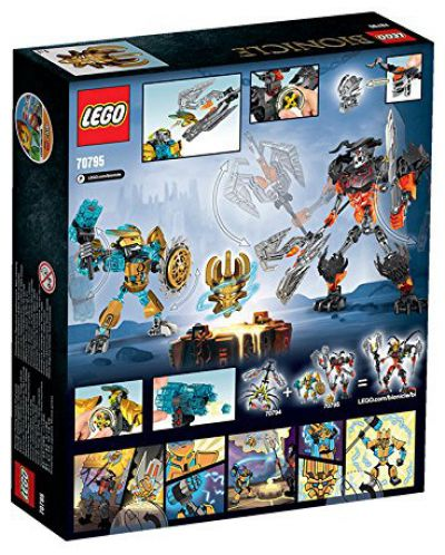Lego Bionicle: Творецът на маски срещу Смазващия череп (70795) - 3