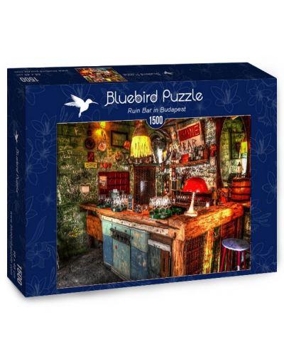 Пъзел Bluebird от 1500 части - Бар Руина в Будапеща - 1