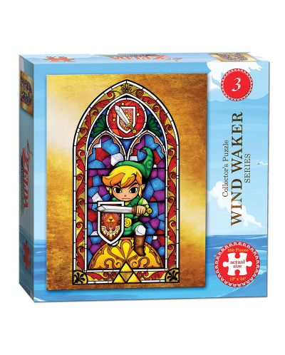 Колекционерски пъзел USAopoly, The Legend of Zelda - The Wind Waker #3, 550 части - 1