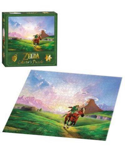 Колекционерски пъзел USAopoly, The Legend of Zelda – Препускащият Линк, 550 части - 2