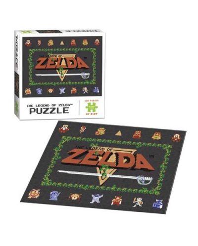 Колекционерски пъзел USAopoly, The Legend of Zelda Classic - 550 части - 2