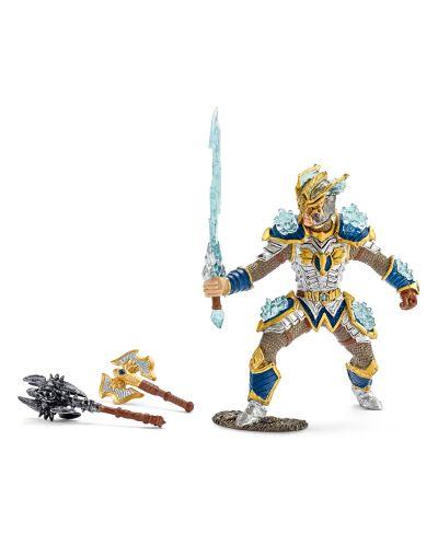 Фигурка Schleich от серията Рицари на Грифона: Рицар на Грифона - герой с оръжия - 1