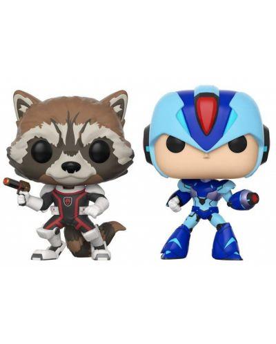 Фигури Funko Pop! Games: Rocket VS Mega Man X, 2 pack - 1