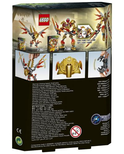Lego Bionicle: Икир създание от огън (71303) - 3