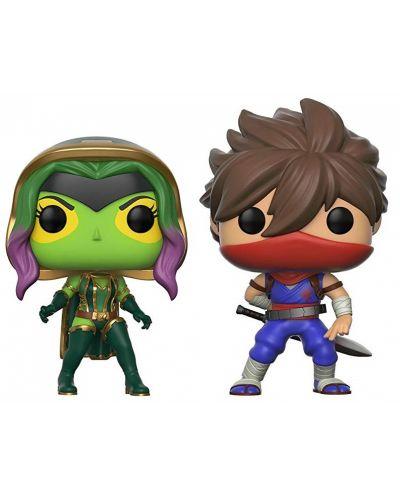 Фигури Funko Pop! Games: Gamora VS Strider, 2 pack - 1