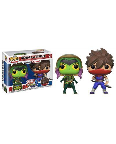 Фигури Funko Pop! Games: Gamora VS Strider, 2 pack - 2