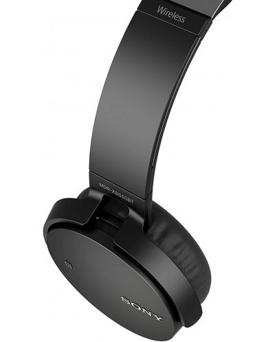 Слушалки Sony MDR-XB650BT - черни - 5