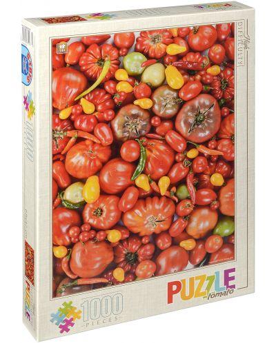 Пъзел D-Toys от 1000 части – Зеленчуци - 1