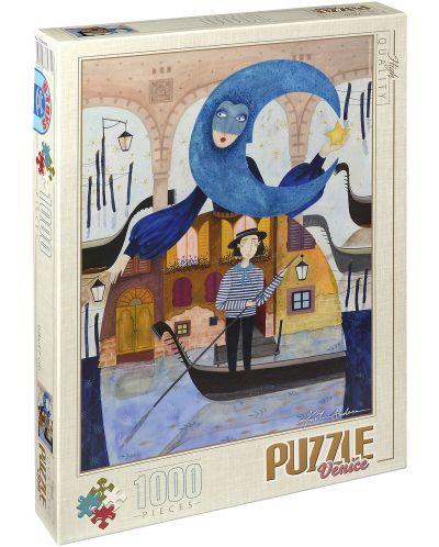 Пъзел D-Toys от 1000 части – Венеция, Андреа Кюрти - 1