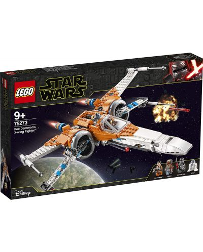 Конструктор Lego Star Wars - Poe Dameron's X-wing Fighter (75273) - 1