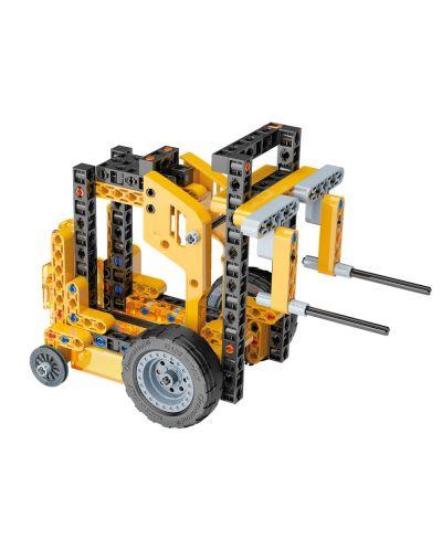 Конструктор Clementoni Mechanics Laboratory - Строителни машини, 250 части - 4