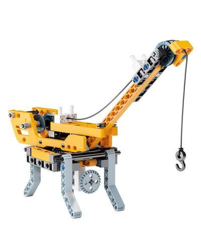 Конструктор Clementoni Mechanics Laboratory - Строителни машини, 250 части - 6