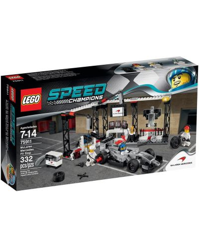 Конструктор Lego Speed - Пит-стоп на McLaren Mercedes (75911) - 1